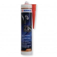 Berner 1K hőálló szilikon tömítőmassza - Piros